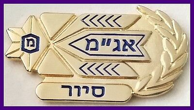 israel police Operations Division tour gilded lapel pin badge