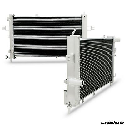 Alloy Twin Core 42Mm Radiator For Vauxhall Opel Z20Let Zafira Astra G Gsi Sri