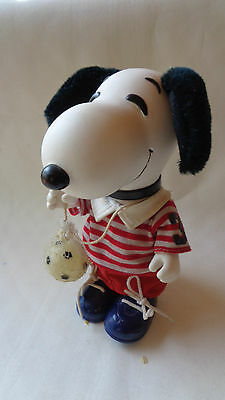 Snoopy Calciatore Soccer Player Puppet Action Figure Anni 60 - Super - Aa/1122