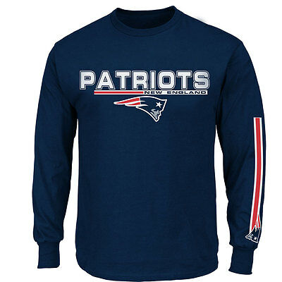 New England Patriots Long Sleeve NFL T-shirt