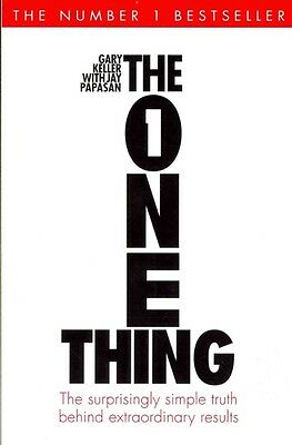 The One Thing by Gary Keller Paperback Book (English)