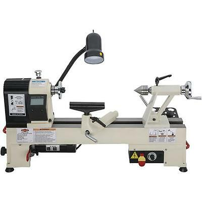 "Shop Fox W1836 12"" x 15"" Variable Speed Benchtop Wood Lathe (New for 2016)"
