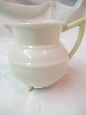 Vintage Ireland Belleek footed Creamer Black Mark