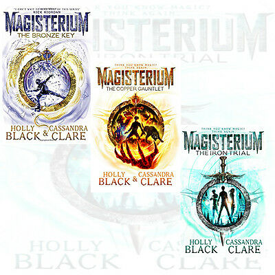 Cassandra Clare,Holly Black Collection 3 Books Set (The Magisterium Series) New