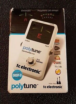 TC Electronic Poly-Chromatic Tuner