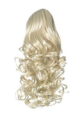 Love Hair Extensions Curly Crocodile Clip Synthetic Hair Ponytail Colour 22/60/6