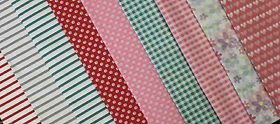 """Printed assorted acid free tissue packaging paper 10 sheets 20x26"""" 36sq.ft"""