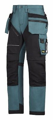 Snickers Trousers 6202 Ruffwork Holster Pocket Trousers Mens Blue
