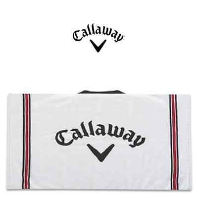 "Callaway Cotton Tour Towel 2017 in White ""NEW"" 30 x 20"