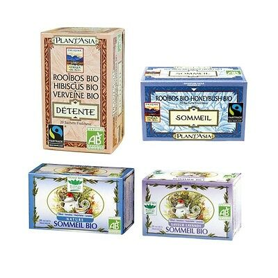 Pack Sommeil 4 Tisanes et Infusions Bio