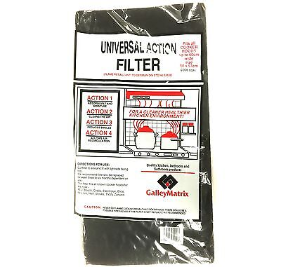 Universal Kitchen Carbon & Grease Filter Sheet for Cooker Hoods & Extractor Fans