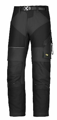 Snickers 6903 Flexiwork Mens Ripstop Trousers Black