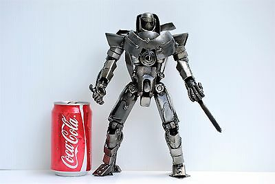 Metal Art Sculpture COOL ANNIVERSARY GIFTS FOR GROOMSMEN Robot (A) Gift for dad