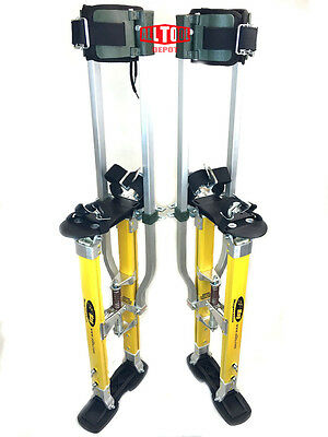 "SurPro S2.1 ""Dually"" Magnesium Drywall Stilts 24-40 in. (SUR-S2-2440MP)"