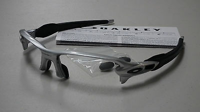 Oakley Flak 2.0 Silver Black Sunglasses Frame Oo9295-02 *authentic*