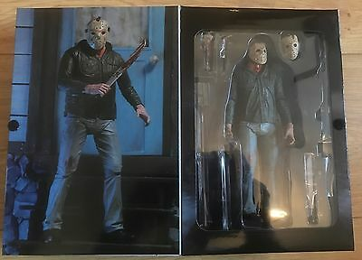 """Neca Friday The 13Th Part 3 Ultimate Jason Voorhees  7"""" Action Figure Instock"""