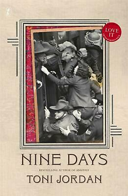 Nine Days by Toni Jordan Paperback Book Free Shipping!
