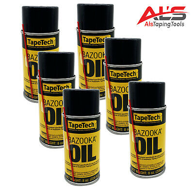 Ames TapeTech Bazooka Oil Drywall Taping Tool Lubricant (12 Pack)