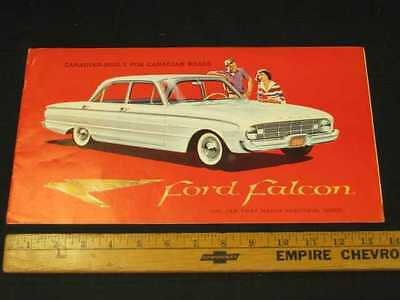 1960 Ford Falcon Car Catalog Sales Brochure CDN