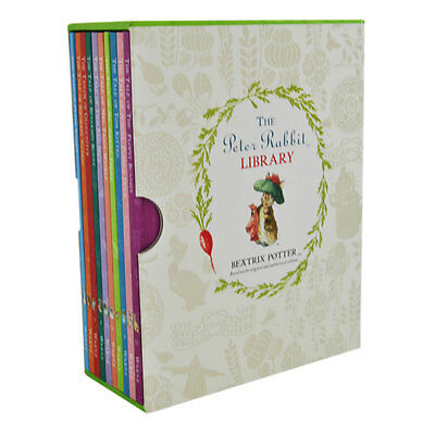 The Peter Rabbit Library - 10 Book Collection by Beatrix Potter, Books, New