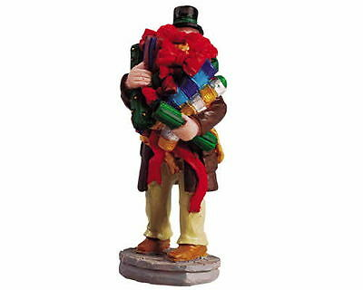 New Lemax Figurines All Wrapped Up 52072  Polyresin NEW 2015