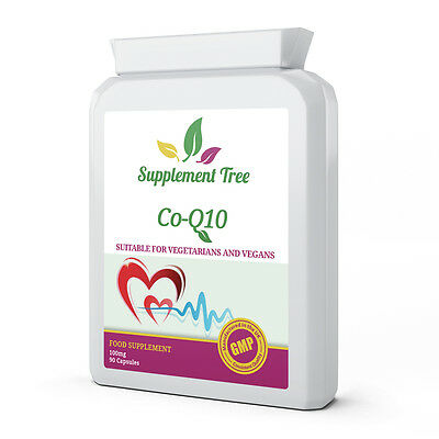 Co-Enzyme Q10 CoQ10 100mg 90 Capsules - 100% Naturally Fermented Trans Form