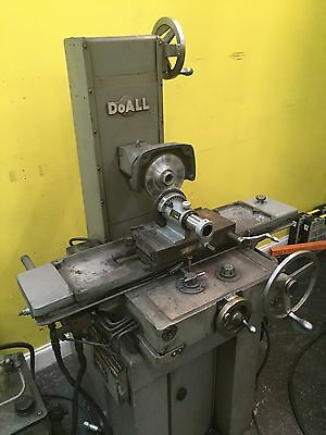 DoAll Surface Grinder With Hydraulic Table Feed Tool Grinding CNC Shop Toolroom