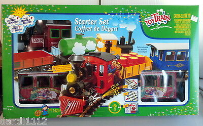 LGB Lehmann Starter Set G Scale Toy Train Santa North Pole Express 94775