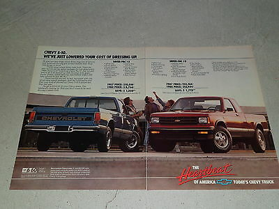 1988 CHEVROLET S-10 PICK-UP TRUCK article / ad