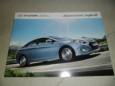 2015 HYUNDAI SONATA HYBRID Sales Brochure Color NEW!!!!!!