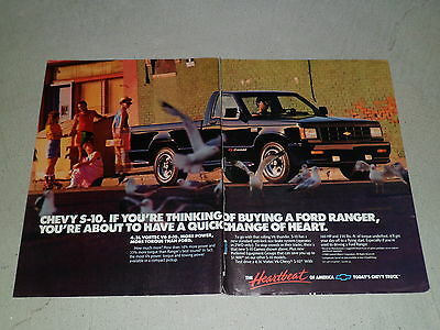 1988 CHEVROLET S-10 PICK-UP article / ad