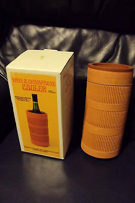 Wine and Champagne cooler w/ coaster NEW IN BOX