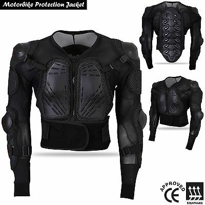 Motorbike Motorcycle Full Body Protector Armour Jacket CE APPROVED