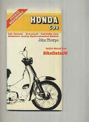 Honda C90 (1967-1977) Pitmans Work Shop Repair Service Manual Book C 90 Cub