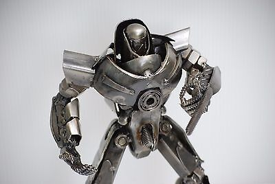 Metal Art Sculpture Special Birthday Gift Great Gift Idea For Birthday Robot (B)