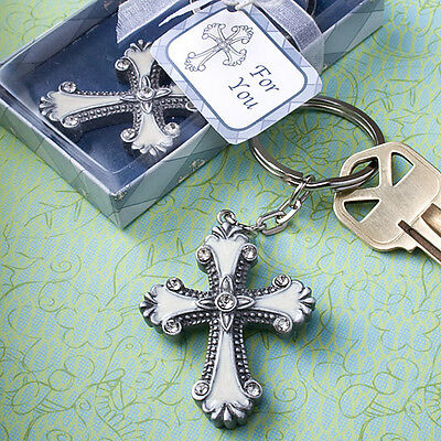 20 Madonna And Child Cross Ornaments Religious Baptism Christening Party Favors