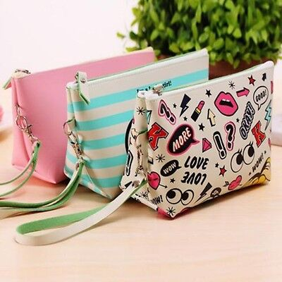 Fashion Travel Cosmetic Toiletry Bag Multifunction Makeup Storage Pouch Case