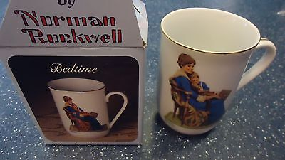 Assortment of 9 Norman Rockwell Mugs   7 mugs-1982   2 mugs-1987