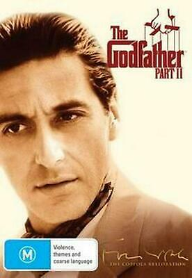 The Godfather Part 2, - Restored - PAL Region 4 Free Shipping!