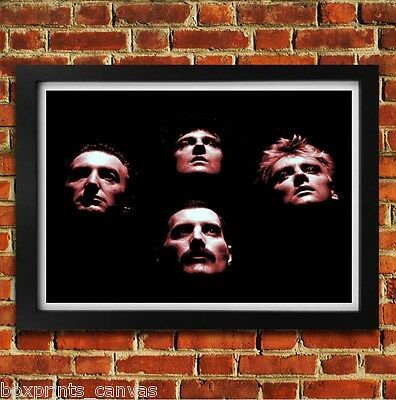 Queen Freddie Mercury Music Poster Framed Wall Art Print Picture S M Large