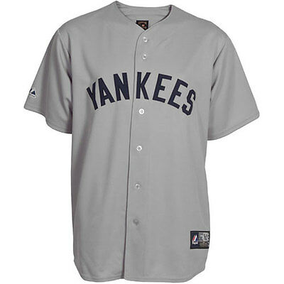 New York Yankees Cooperstown Replica MLB Grey Jersey Small - [1927]