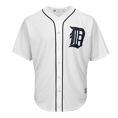 Detroit Tigers Cool Base Home MLB Replica Jersey XL