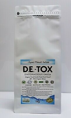 D.E.-TOX  Food Grade Organic Diatomaceous Earth Perma-Guard™-1kg