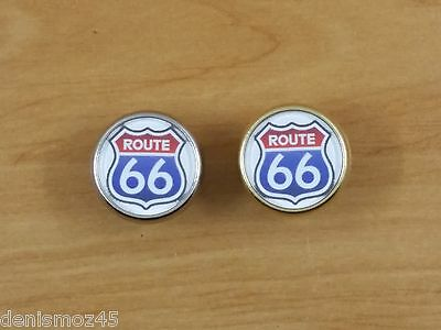 """Pins Rond """" Route 66"""""""