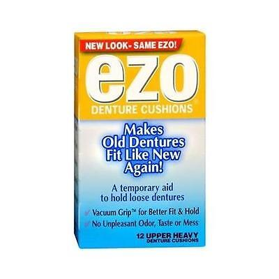 Ezo Denture Cushions Upper Heavy - 12 Ea