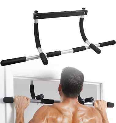 Door Gym Total Upper Body Exercise Indoor Workout Pull-up Chin-up Bar