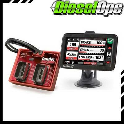 Banks Power Six-Gun Diesel Tuner w/Banks iQ for Ford Truck/SUV 2003-2007