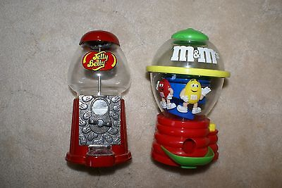 Jelly Belly & M&M Dispenser LOT of 2
