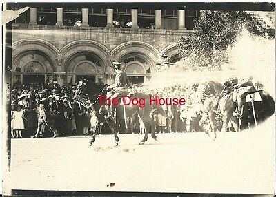 1920's Photograph 2nd Infantry Division - On Parade In San Antonio, TX