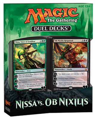 Duel Decks Nissa vs. Ob Nixilis Magic the Gathering MTG NEW SEALED